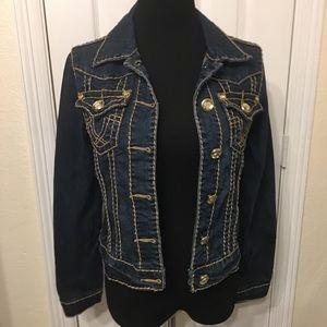 L.A. Idol Woman's Blue Jean Jacket Medium